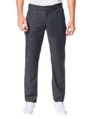 Calca-Calvin-Klein-5-Pockets-Xadrez-Chumbo
