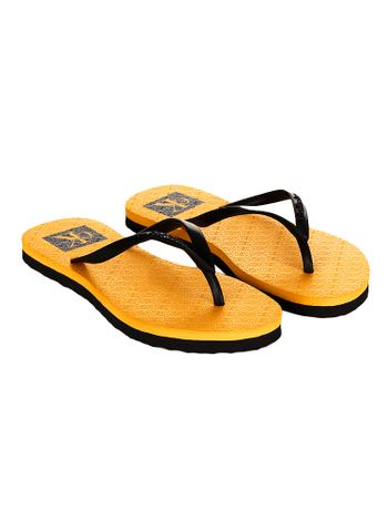 Chinelo-Calvin-Klein-Jeans-Re-Issue-Amarelo-Ouro