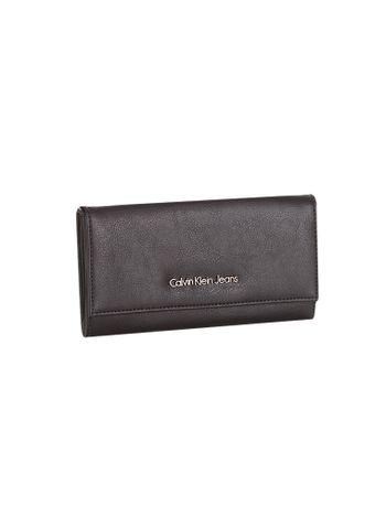 Carteira Calvin Klein Jeans Tampa Bicolor Chumbo - Calvin Klein 96269dfbbc