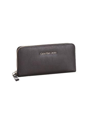 Carteira-Media-Ziper-Calvin-Klein-Jeans-Preto