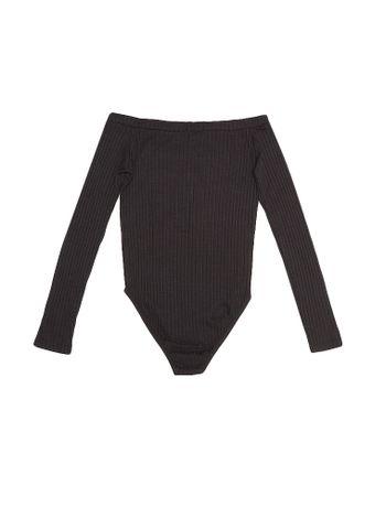 Body-Infantil-Calvin-Klein-Jeans-Decote-Ombro-A-Ombro-Preto