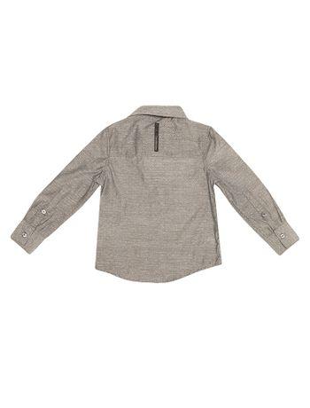 Camisa-Infantil-Calvin-Klein-Jeans-E-Logo-Estampado-Chumbo