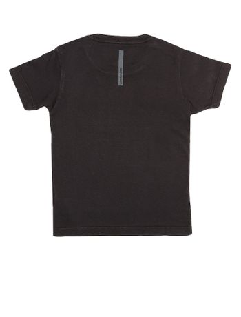 Camiseta-Infantil-Calvin-Klein-Jeans-Estampa-Frontal-Preto