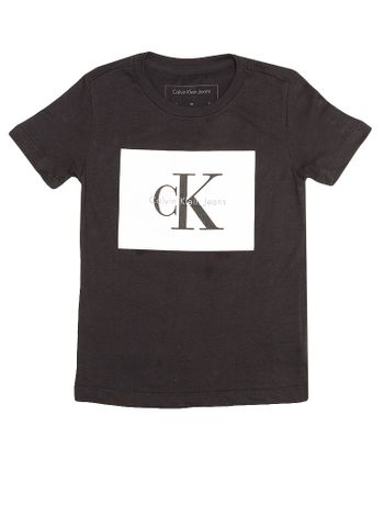 Camiseta-Infantil-Calvin-Klein-Jeans-Estampa-Logo-Preto