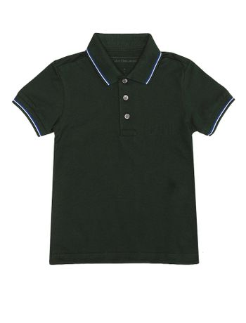 Polo-Infantil-Calvin-Klein-Jeans-Floresta
