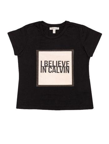 Blusa-Infantil-Calvin-Klein-Jeans-Com-Tule-Preto
