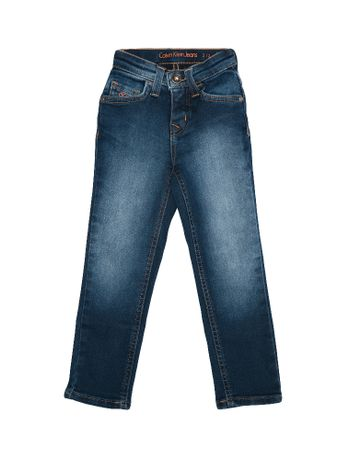 Calca-Jeans-Infantil-Calvin-Klein-Jeans-Five-Pockets-Jegging-High-Azul-Medio
