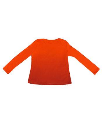 Blusa-Infantil-Calvin-Klein-Jeans-Em-Degrade-Laranja