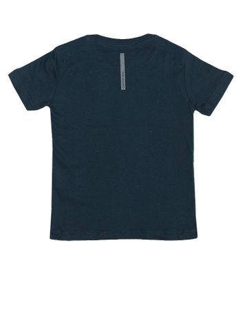 Camiseta-Infantil-Calvin-Klein-Jeans-Estampa-Azul-Marinho