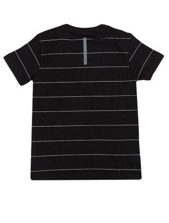 Camiseta-Infantil-Calvin-Klein-Jeans-Estampa-Logo-Preta