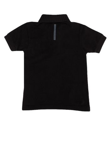 Polo-Infantil-Calvin-Klein-Jeans-Estampa-Logo-Peito-Preto