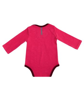 Body-Infantil-Calvin-Klein-Jeans-Logo-Calvin-Klein-Jeans-Rosa-Escuro