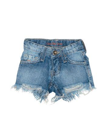 Shorts-Infantil-Calvin-Klein-Jeans-Five-Pockets-Azul-Medio