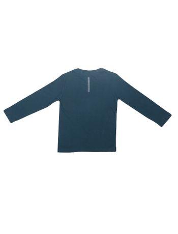 Camiseta-Infantil-Calvin-Klein-Jeans-Etiqueta-Logo-Azul-Marinho