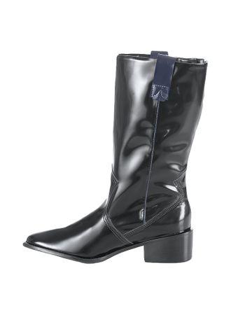 Bota-Cano-Alto-Calvin-Klein-Jeans-Western-Preto