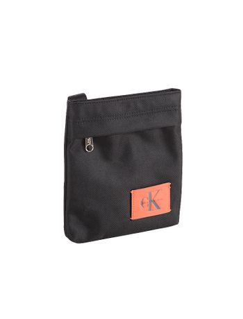 Bolsa-Micro-Calvin-Klein-Jeans-Flat-Pack-Tiracolo-Preto