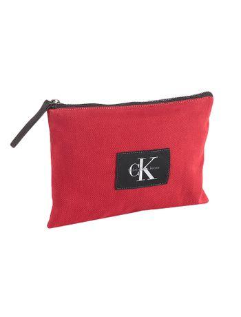 Necessaire-Grande-Lona-Calvin-Klein-Jeans-Vermelho