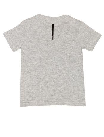 Camiseta-Infantil-Calvin-Klein-Jeans-Estampa-Frontal-Cinza-Mescla