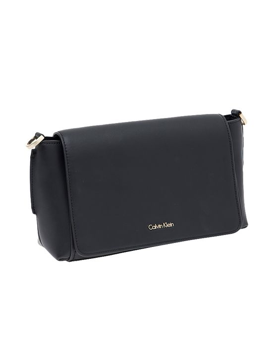 Bolsa-Couro-Calvin-Klein-Medium-Chrissy-Flap-Crossob-Preto