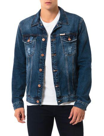 Jaqueta-Jeans-Trucker-Calvin-Klein-Jeans-Marinho