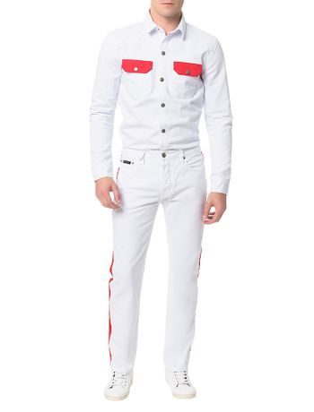 Camisa-Color-Calvin-Klein-Jeans-Branco
