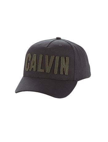 Bone-Calvin-Klein-Jeans-Calvin-Bold-Patch-Preto