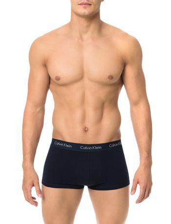 Kit-3-Cuecas-Low-Rise-Trunk-Calvin-Klein-Underwear-Marinho-Vermelho-Branco