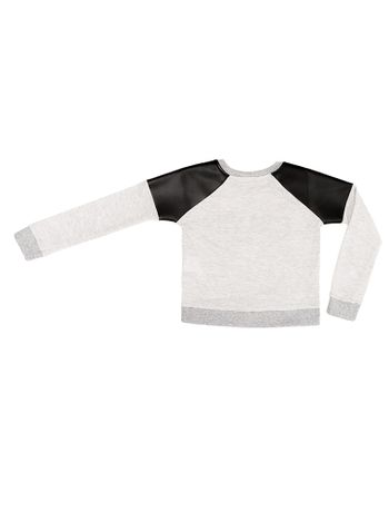 Blusa-Infantil-Calvin-Klein-Jeans-Recortes-Cirre-Mescla