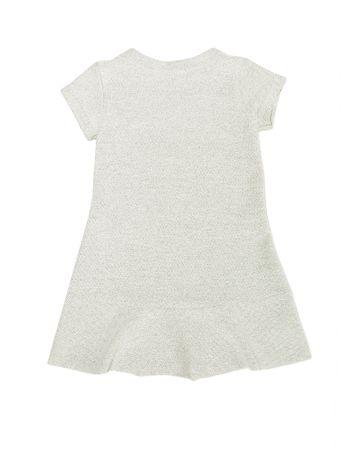 Vestido-Moletinho-Infantil-Calvin-Klein-Jeans-Avesso-Mescla
