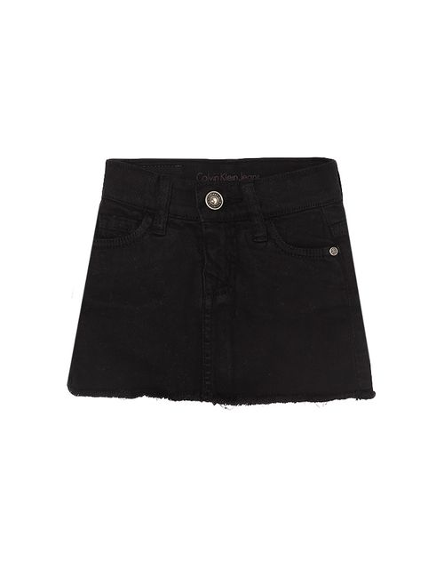 Saia Color Infantil Calvin Klein Jeans Five Pockets Preto