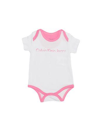 Body-Infantil-Calvin-Klein-Jeans-Logo-Degrade-Branco