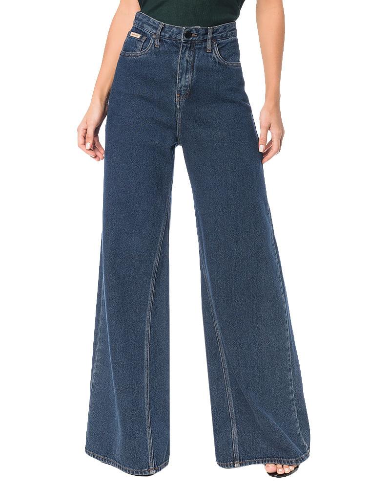 Calça Calvin Klein Jeans Five Pockets Pantalona Marinho - Calvin Klein 2c60afc25b