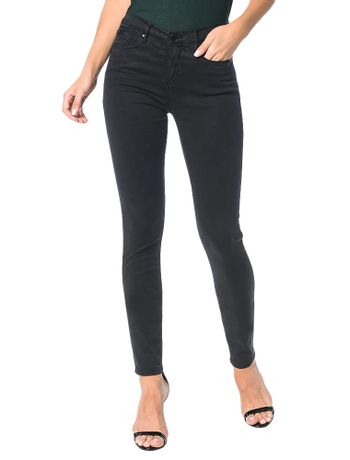 Calca-Color-Calvin-Klein-Jeans-Five-Pockets-Jegging-High-Preto
