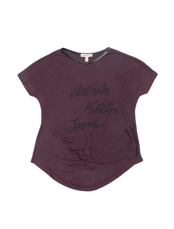 Blusa-Infantil-Calvin-Klein-Jeans-No-E-Bordado-Berinjela