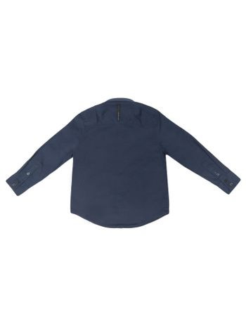Camisa-Infantil-Calvin-Klein-Jeans-Logo-Calvin-Klein-Jeans-Marinho