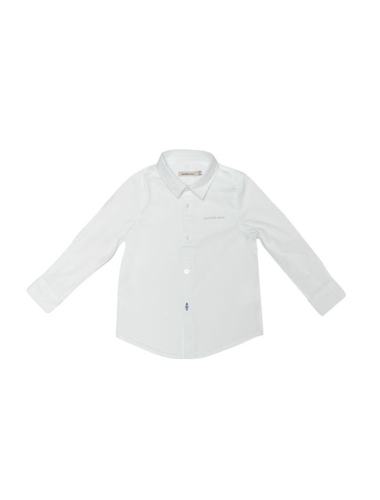 Camisa-Infantil-Calvin-Klein-Jeans-Logo-Calvin-Klein-Jeans-Branco