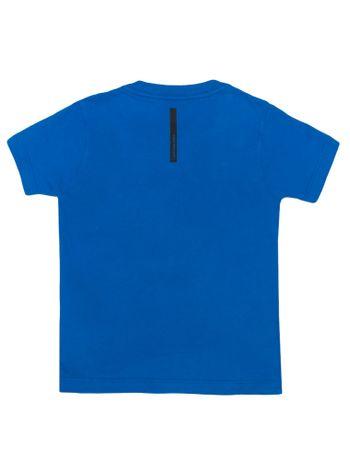Camiseta-Infantil-Calvin-Klein-Jeans-Estampa-Moldura-Gel-Azul-Royal