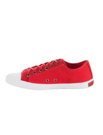 Tenis-Calvin-Klein-Jeans-Lona-CK-Re-Issue-Vermelho
