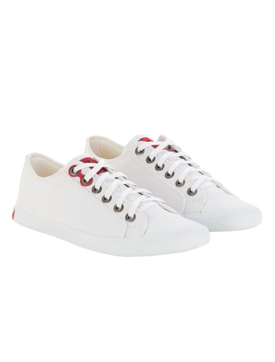 Tenis-Calvin-Klein-Jeans-Lona-CK-Re-Issue-Branco