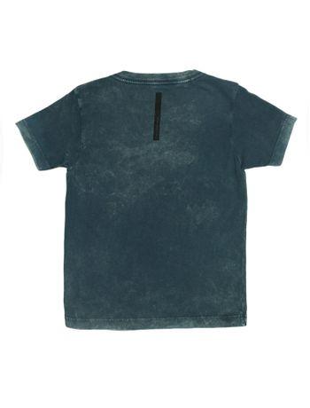 Camiseta-Infantil-Calvin-Klein-Jeans-Estampa-Frontal-Marinho