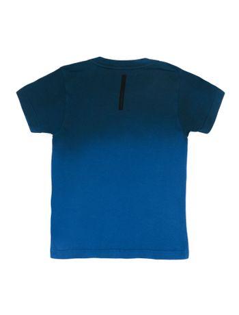 Camiseta-Infantil-Calvin-Klein-Jeans-Institucional-E-Degrade-Azul-Royal