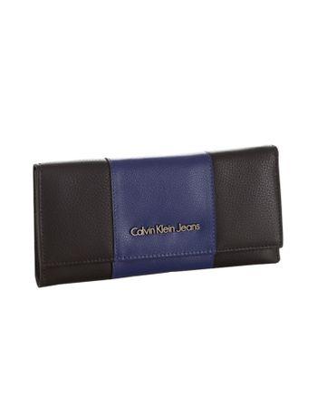 Carteira-Calvin-Klein-Jeans-Tampa-Faixa-Central-Preto