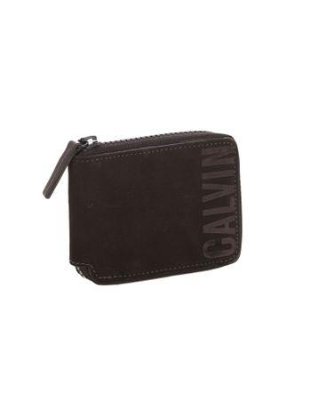 Carteira-Calvin-Klein-Jeans-Couro-Bold-Ziper-Grafite