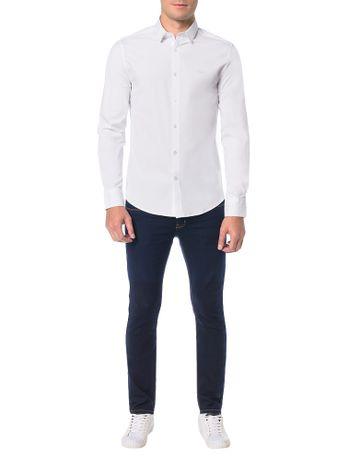Camisa-Calvin-Klein-Jeans-Recortes-Branco