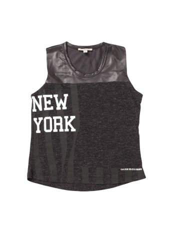 Blusa-Infantil-Calvin-Klein-Jeans-New-York-Preto