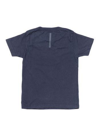Camiseta-Infantil-Calvin-Klein-Jeans-Estampa-E-Jato-Frontal-Marinho