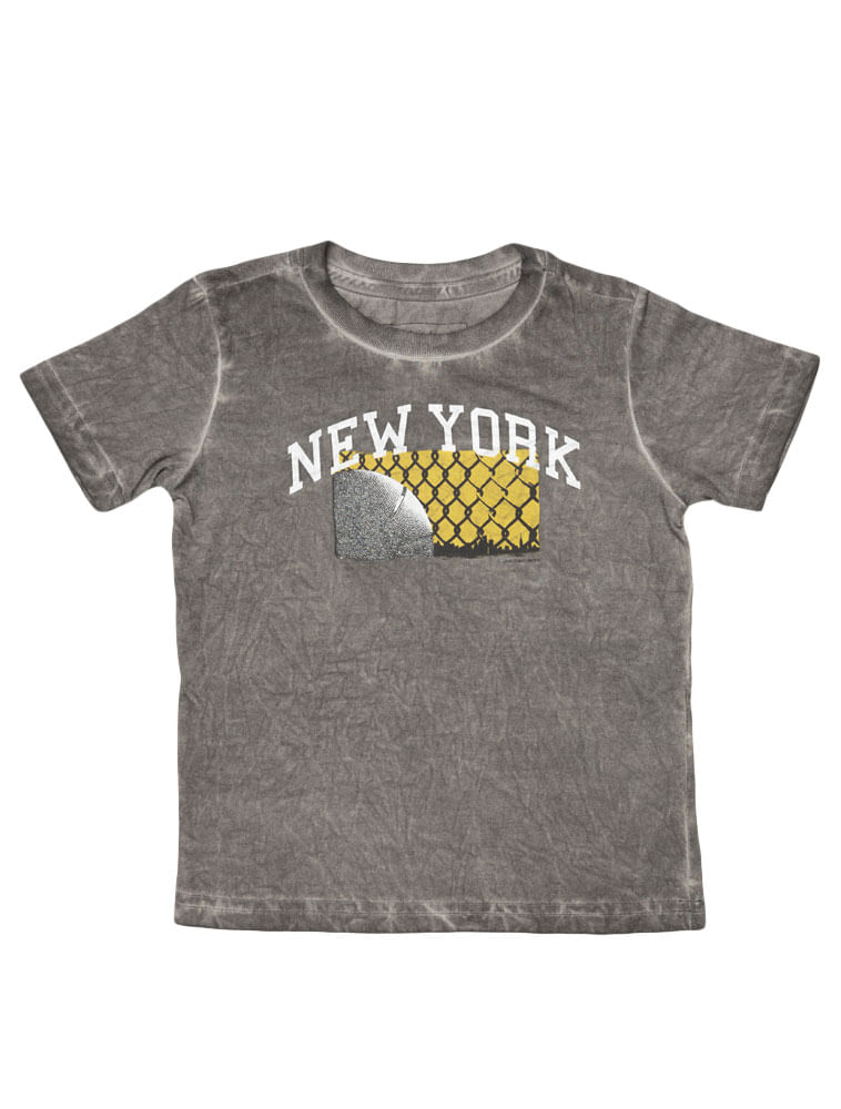 4bffd9735f97d Camiseta-Infantil-Calvin-Klein-Jeans-Estampa-E-Lavanderia-Cinza-Chumbo.  Loading zoom
