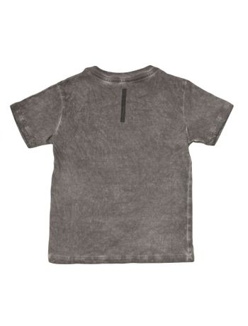 Camiseta-Infantil-Calvin-Klein-Jeans-Estampa-E-Lavanderia-Chumbo