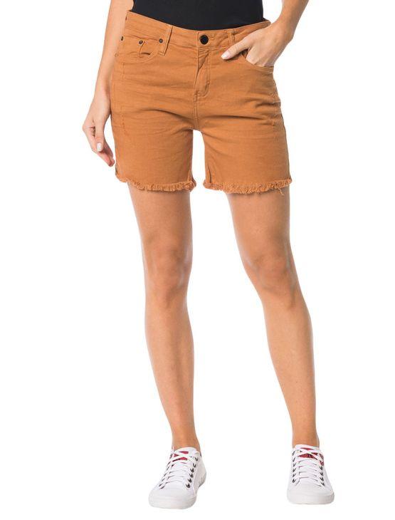 Bermuda-Color-Calvin-Klein-Jeans-Five-Pockets-Havana