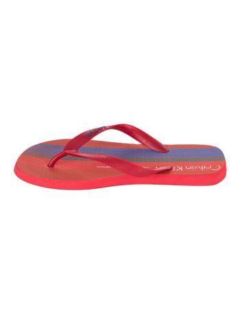 Chinelo-Calvin-Klein-Jeans-America-Vermelho
